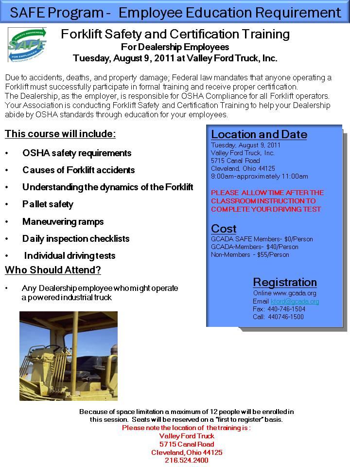 Gcada Workshopstraining